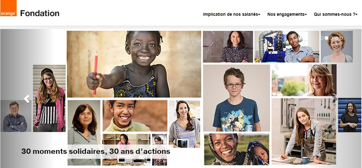 FONDATION ORANGE site officiel